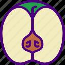 apple, eat, food, fruit, kitchen, vegetable icon