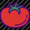 eat, food, fruit, kitchen, tomato, vegetable icon