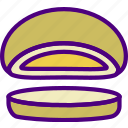 cheese, drink, eat, food, goud, pizza icon