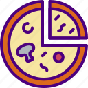 drink, eat, food, pizza icon