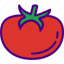drink, eat, food, pizza, tomato icon