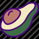 avocado, drink, eat, food, pizza icon