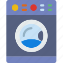 appliance, furniture, household, machine, room, washing icon