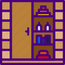 appliance, furniture, household, room, wardrobe icon