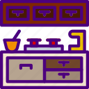 appliance, furniture, household, kitchen, room icon