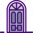 appliance, door, furniture, household, room icon