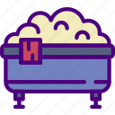 appliance, bath, furniture, household, room, tub icon