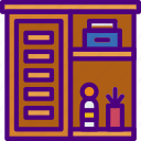 appliance, bathroom, cabinet, furniture, household, room icon