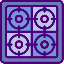 household, cooker, appliance, room, furniture icon