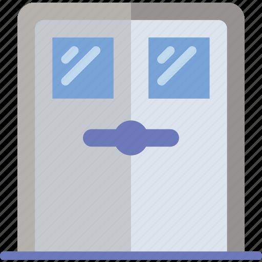 appliance, door, furniture, household, school, wardrobe icon
