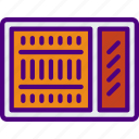 ac, appliance, furniture, household, unit, wardrobe icon