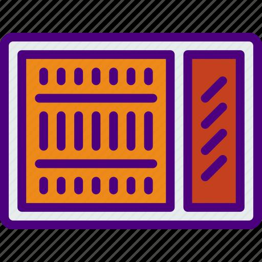 ac, appliance, furniture, household, unit, wardrobe icon