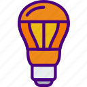 appliance, bulb, furniture, household, light, wardrobe icon