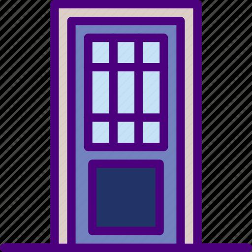 appliance, door, furniture, household, wardrobe icon