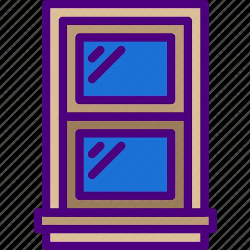 Appliance, furniture, household, wardrobe, window icon - Download on Iconfinder