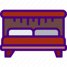 appliance, bed, furniture, household, wardrobe icon