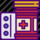 anatomy, doctor, hospital, medical, pills icon