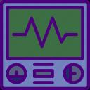 anatomy, doctor, ekg, hospital, medical, monitor icon