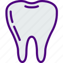 anatomy, doctor, healthy, hospital, medical, molar icon