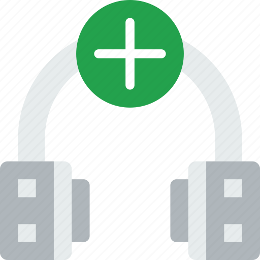 add, headphones, music, sing, song, sound icon