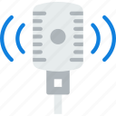 microphone, music, sing, song, sound, studio icon