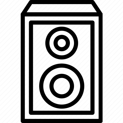 music, sing, song, sound, speaker icon