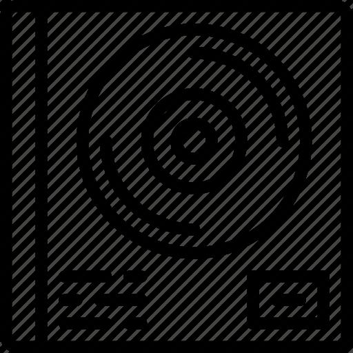 album, music, sing, song, sound, studio icon