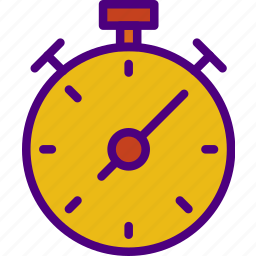 athletic, fitness, health, sport, stopwatch icon