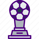 athletic, fitness, health, soccer, sport, trophy icon