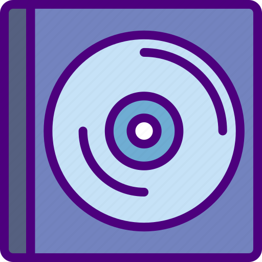 cd, music, sing, song, sound icon
