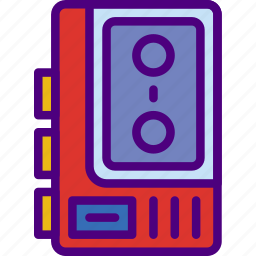 cassette, music, player, sing, song, sound icon
