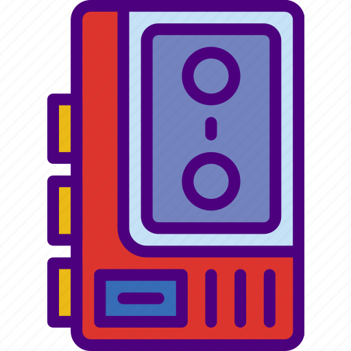 Cassette, music, player, sing, song, sound icon - Download on Iconfinder