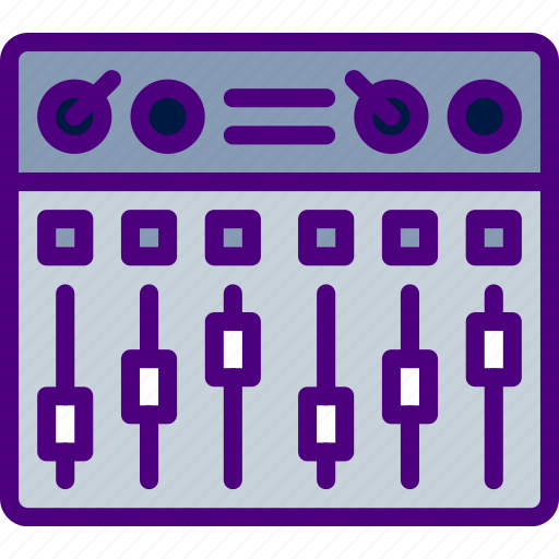 gear, mixing, music, sing, song, sound icon