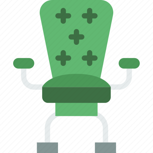 chair, corporate, job, office, officer, work icon