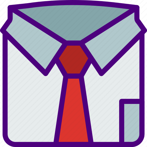Corporate, Job, Office, Shirt, Work Icon