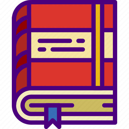 book, corporate, job, office, work icon