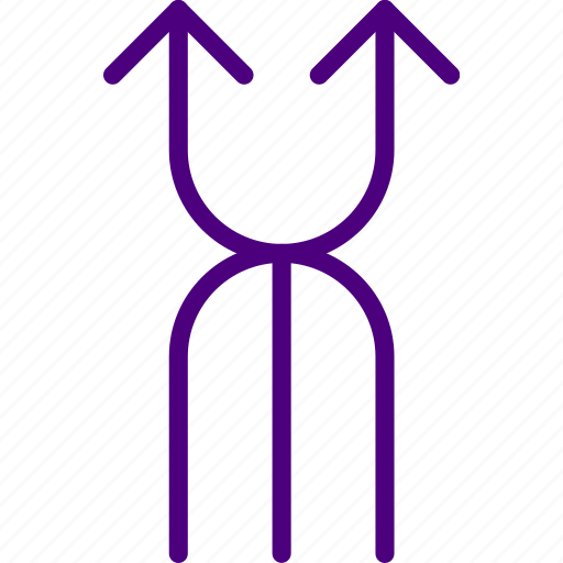 arrow, direction, location, orientation, upward icon