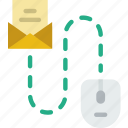 mail, media, roadmap, social