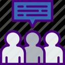 conversation, facebook, instagram, media, social icon