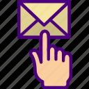 click, email, facebook, instagram, media, social icon