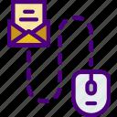 mail, media, roadmap, social icon
