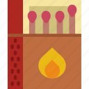 holiday, matches, seaside, travel, vacation icon