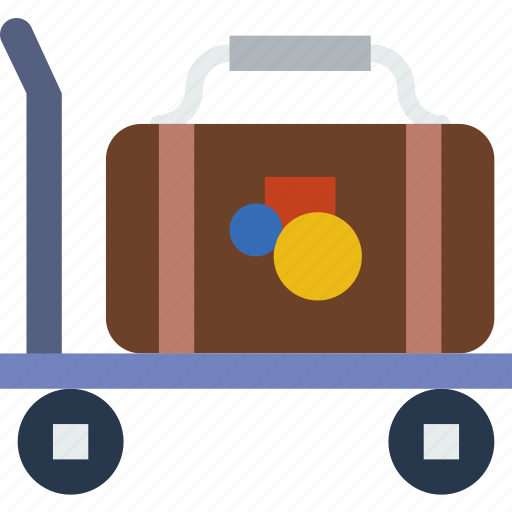 bellhop, holiday, seaside, travel, vacation icon