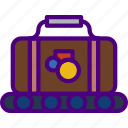 airport, holiday, luggage, seaside, travel, vacation icon