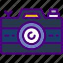 camera, holiday, seaside, travel, vacation icon