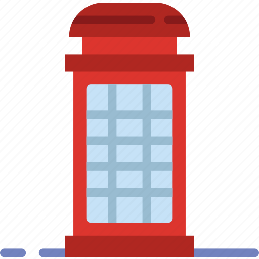 booth, building, city, phone, street, urban icon