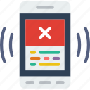 app, error, interaction, interface, message, mobile icon