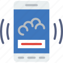 widget, interaction, mobile, app, weather, interface icon