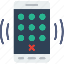 app, dial, interaction, interface, mobile, pad icon