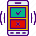 app, interaction, interface, mobile, notifications icon